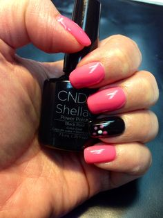 Gotcha with accent in black pool! Shellac