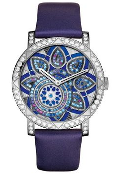 The House of Boucheron 's exquisite French jewelry  line (founded in 1858) has an unbelievable collection of beauties, I love this watch!  Thanks to Gypsy House Designs for the introduction!