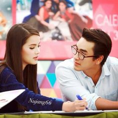 Yadech Korean Celebrity Couples, Korean Celebrities, Best Thai, Thai Drama, Muslim Couples, Sweet Couple, Drama Series, Actor Model, Traditional Dresses