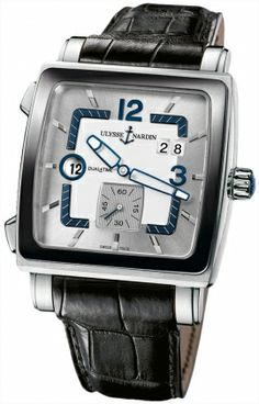 Ulysse Nardin Quadrato Dual Time 243-92cer/601 RRP: USD $8,800