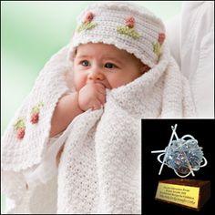 crochet baby blanket and cap #crochet baby blanket #crochet baby cap
