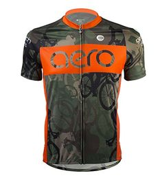 Woodlands Camo Cycling Jersey Large >>> You can find out more details at the link of the image.Note:It is affiliate link to Amazon.