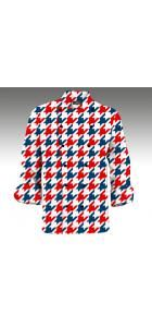 Red & Blue Tooth Chef Coats www.loudmouthgolf.com Made to Order Chef Coats! Chef Coats, Blue Tooth, Red And Blue, Chef Jackets, Tops, Women, Fashion, Bluetooth, Moda