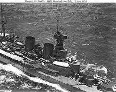 Image used to illustrate the details of the HMS Hood Battlecruiser Warship Hms Hood, Marina Real, Gun Turret, Prinz Eugen, Imperial Japanese Navy, Armada, United States Navy, Navy Ships, Royal Navy
