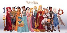 Princesas Disney como personagens de Game of Thrones