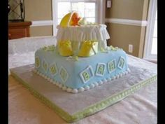 Baby shower cake design ideas Check more at https://newbieto.com/baby/baby-shower-cake-design-ideas/