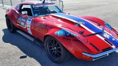 """Our friend Cris Gonzalez from JCG Restoration & Customs is at the Ultimate Street Car Association @optimabatteries Search for the Ultimate Street Car event, in Las Vegas, this weekend, with his """"new"""" '70 Stingray on @jrishocks, Wilwood disc brakes, and Forgeline ZX3R wheels.  #Forgeline #ZX3R #notjustanotherprettywheel #madeinUSA #Chevy #Corvette #Stingray #C3 #driveusca"""