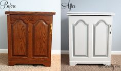 two twenty one: painting laminate furniture