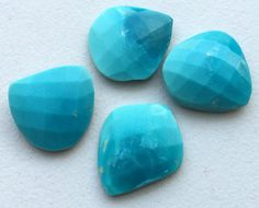 Arizona Turquoise Checker Cut Loose Turquoise by gemsforjewels