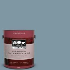 Dinning Room  BEHR Premium Plus Ultra 8 oz. #530F-5 Waterscape Interior/Exterior Paint Sample 530F-5U at The Home Depot - Mobile