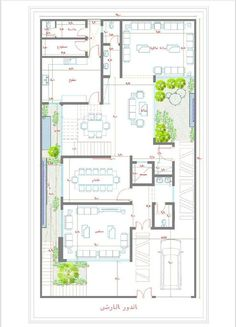 Family House Plans, New House Plans, Architectural Floor Plans, House Elevation, Architecture Plan, New Homes, Layout, How To Plan, Villas