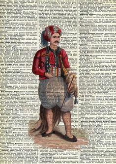Il Moro in Algeri - stampa 1800