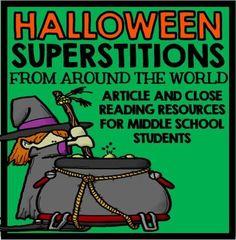 Halloween Close Reading