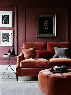 Magnificent Interior Design Trends 2017: Top Tips From the Experts – LuxPad   The post  Interior Design Trends 2017: Top Tips From the Experts – LuxPad…  appeared first on  Feste Home Decor . Red Couch Living Room, Living Room Paint, Living Room Colors, Living Room Furniture, Living Room Designs, Living Room Decor, Living Rooms, Boho Living Room, Furniture Layout