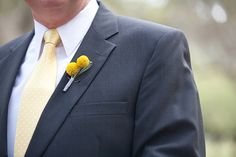 Yellow, Gray and White Southern Wedding from Shannon Kelley | Heart Love Weddings