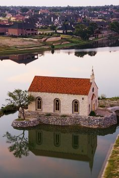 Bella Donna Chapel - McKinney.  A very popular wedding and bridal session spot.