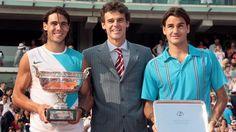 ROLAND-GARROS 2017 - Intronisé au Hall of Fame du tennis 20 ans après sa première victoire à Paris, Gustavo Kuerten est revenu jeudi sur sa relation avec ce tournoi qui a fait sa gloire. Il a aussi évoqué Rafael Nadal, qu'il verrait bien prolonger son règne quelques années de plus.