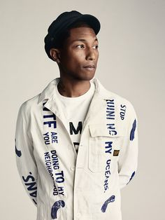 Co-designed by Pharrell Williams. All made from recycled ocean plastic. #rawfortheoceans #bionicyarn