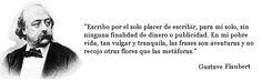 Escribo... (Flaubert)