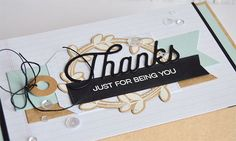 Kind Thanks, Twice the Thanks Die-namics, Spring Wreath, Spring Wreath Die-namics, Fishtail Flags STAX Die-namics, Tag Builder Blueprints 4 Die-namics - Inge Groot  #mftstamps