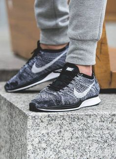 The Best Men s Shoes And Footwear   Flyknit Racer Oreo -Read More – - 044acd3e5d