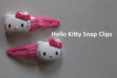 Hello Kitty on Snap Clips