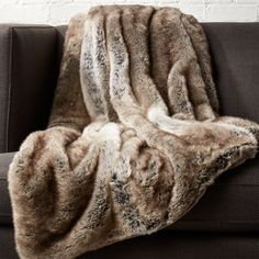 Large and luxe, our grey throw is maxed out in soft faux fur. Layers touchable texture draped over the sofa, chair or bed. Generously sized to snuggle two. Light Grey Faux Fur Throw is a exclusive. White Faux Fur Throw, Duvet, Brown Throws, Modern Throw Pillows, Throw Blankets, Fur Bed Throw, Sheepskin Throw, Faux Fur Blanket, Fuzzy Blanket