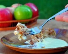 Estonian Apple Cake, simple moist, apple-y, cinnamon-y rustic apple cake.
