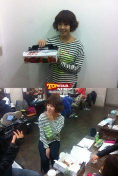 최윤영(Choi Yoon Young), 제작진에게 통닭 선물 '내 딸 서영이' - Unique High Quality Photo News - TopstarNews.Net
