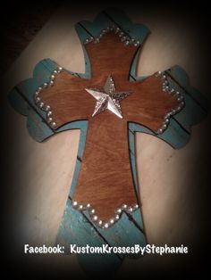 Western handmade cross