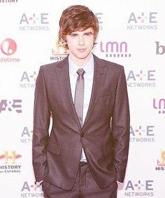Freddie Highmore, my biggest crush! I love Bates Motel, and I love him!
