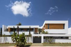 Villa C, a modern private house in a luxury suburb of Rabat, Morocco