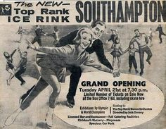 Southampton ice rink, where I learnt to skate.