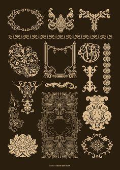 Baroque Ornamental set                                                                                                                                                                                 More