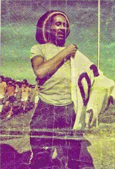 Bob Marley loved football