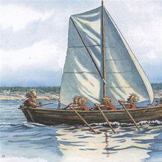 Nettbutikk Midthunsamlerne - www.midthunsamlerne.com Elves, Gnomes, Art For Sale, Sailing Ships, Childrens Books, Illustrators, Boat, Fantasy, Prints