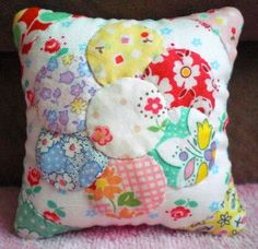 Handmade mini cushion
