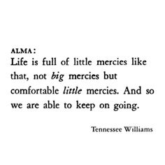 Summer and Smoke - Tennessee Williams