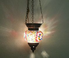 summer sale not $39.99 now only $29.99 moroccan lantern mosaic hanging lamp 84 #Handmade #Moroccan