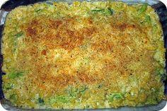 Skinny Baked Broccoli Macaroni and Cheese | Cocinando con Alena