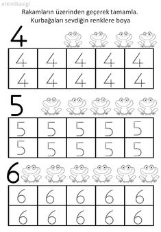 4 5 6 rakamı yazma