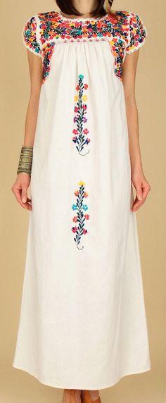 Oaxacan dress #artesaniasMexicanas