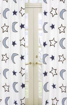 Stars and moon curtains