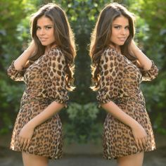 Animal Print Chic Romper - $29.99 #FashionNova