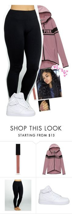 """""""⛥"""" by xxsaraxtaraxx ❤ liked on Polyvore featuring Witchery, Victoria's Secret, Yummie by Heather Thomson and NIKE"""