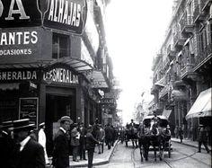 Joyería La Esmeralda, 1910, en Esmeralda y Corrientes. (Fuente:laseserarantifusarecargada.blogspot.com.ar)