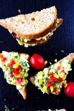 Avocado Egg Salad | giverecipe.com | #eggsalad #avocado #egg #salad #healthysalad