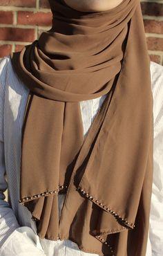 """Vienna"" Chiffon Hijab"