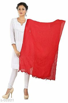 Dupattas Beautiful Cotton  Dupatta  Fabric: Cotton Size : 2 mtrs Description: It Has 1 Piece Of Women's Dupatta Pattern: Solid Sizes Available: Free Size *Proof of Safe Delivery! Click to know on Safety Standards of Delivery Partners- https://ltl.sh/y_nZrAV3  Catalog Rating: ★3.9 (7470)  Catalog Name: Free Mask Akriti Cotton Dupattas Vol 1 CatalogID_61455 C74-SC1006 Code: 531-553511-