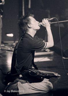 Thom Yorke - #Radiohead - The Edge, Frisco 1996-03-28 By Jay Blakesberg